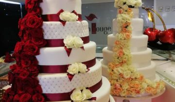 Ruban Ropuge wedding cake fes