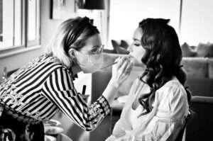 maquillage mariée morgane rivet