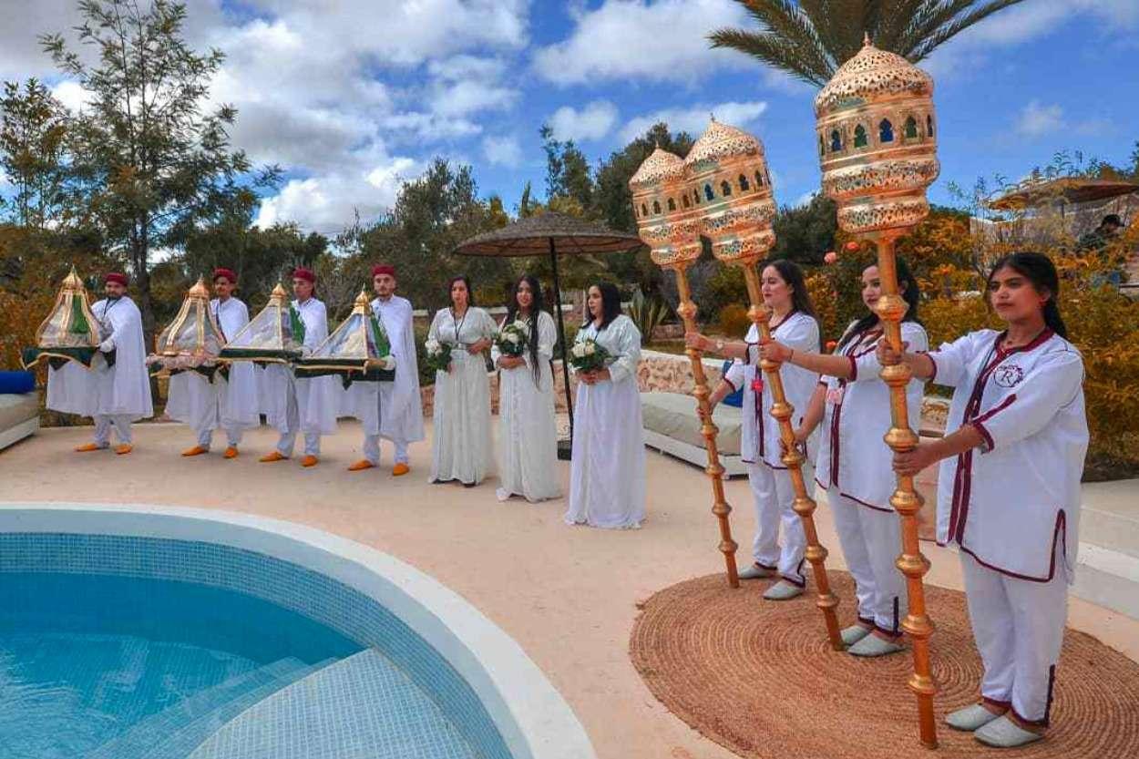 Dhez de la mariée marocaine