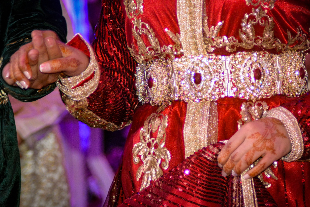 Une takchita tendance pour la mariée marocaine