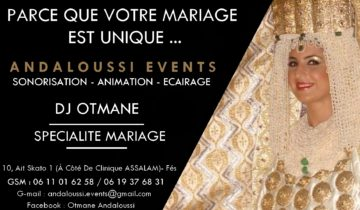andaloussi events