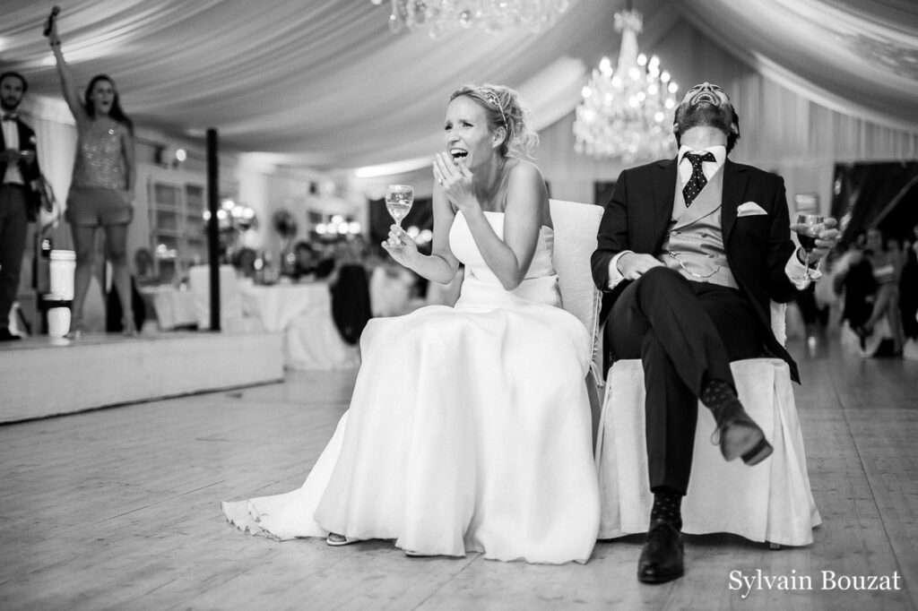 des jeux amusant lors de votre mariage